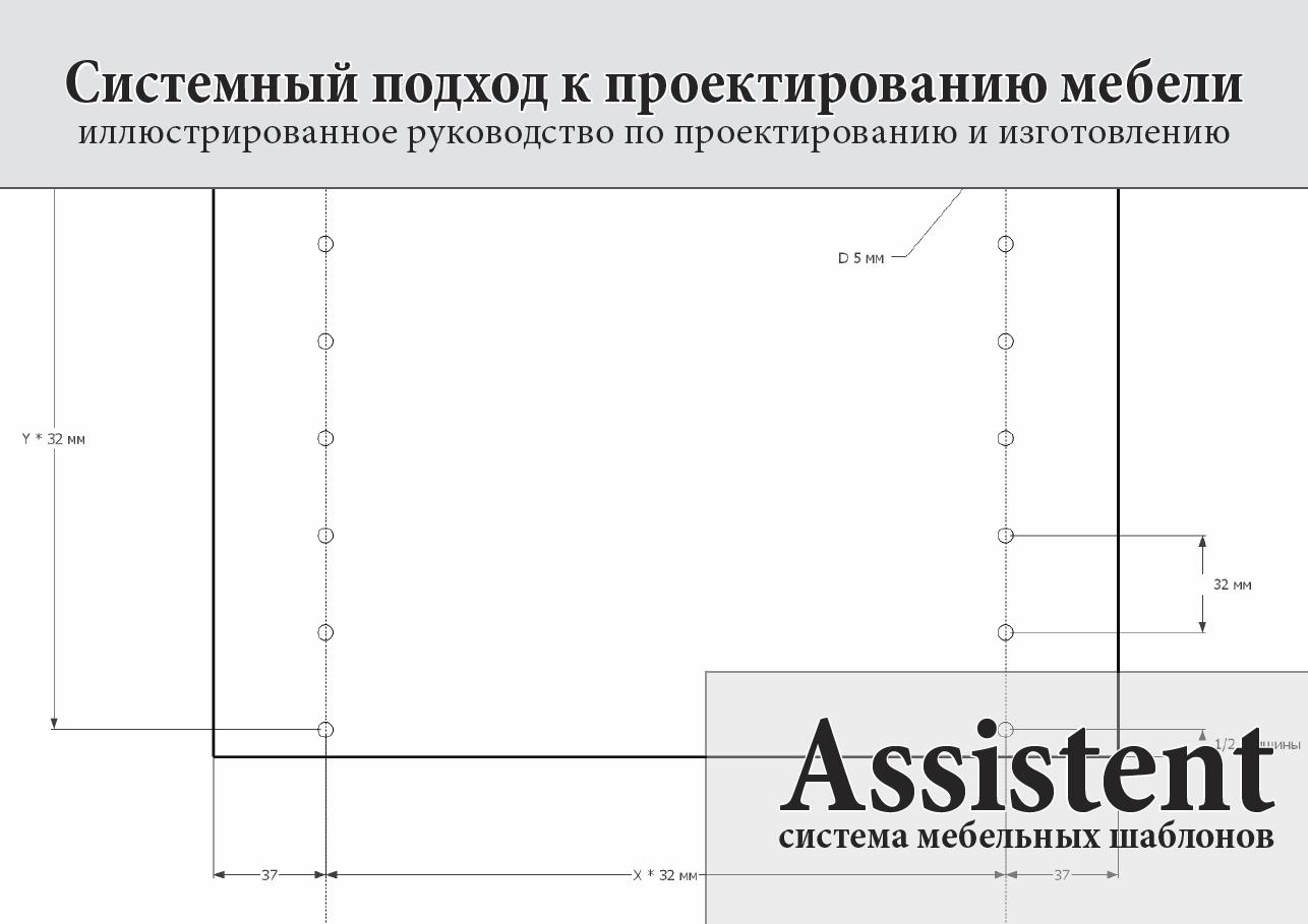 мебельный шаблон-кондуктор assistent москва