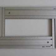 Универсальный фрезерный шаблон, Assistent F-шина