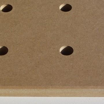Совместимая MFT/3-LP столешница, лицевая сторона, крупный план